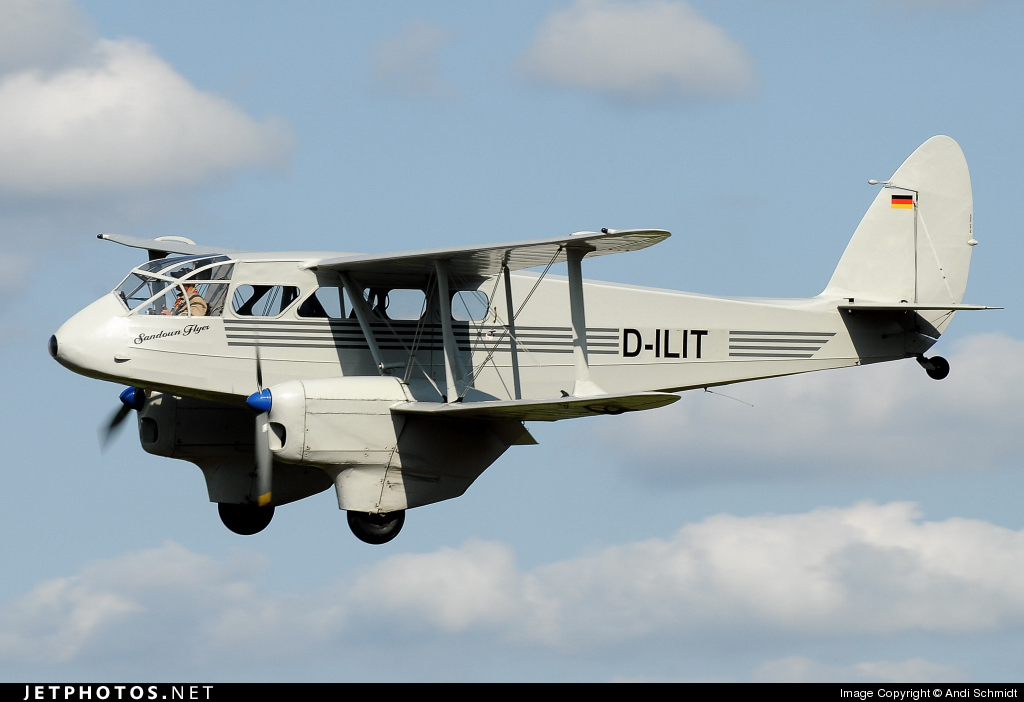 D-ILIT - De Havilland DH-89A Dragon Rapide - Private