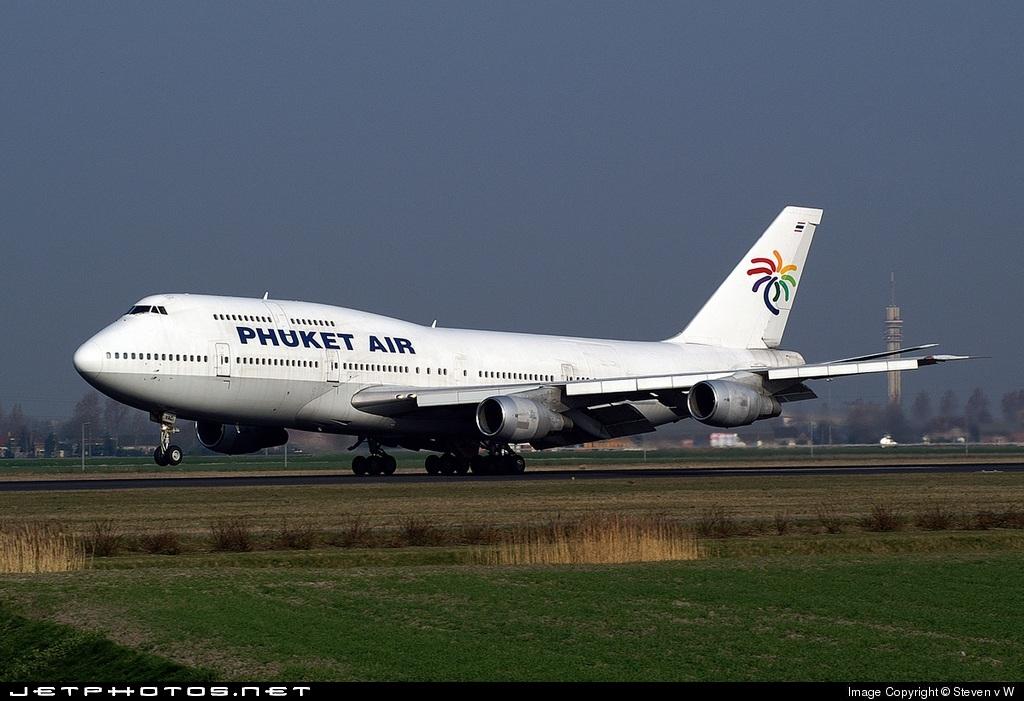 HS-VAC - Boeing 747-306(M) - Phuket Air