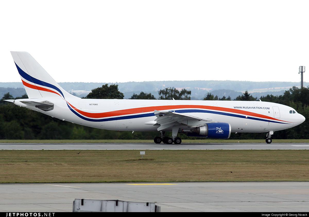 N77080 - Airbus A300F4-605R - RUS Aviation
