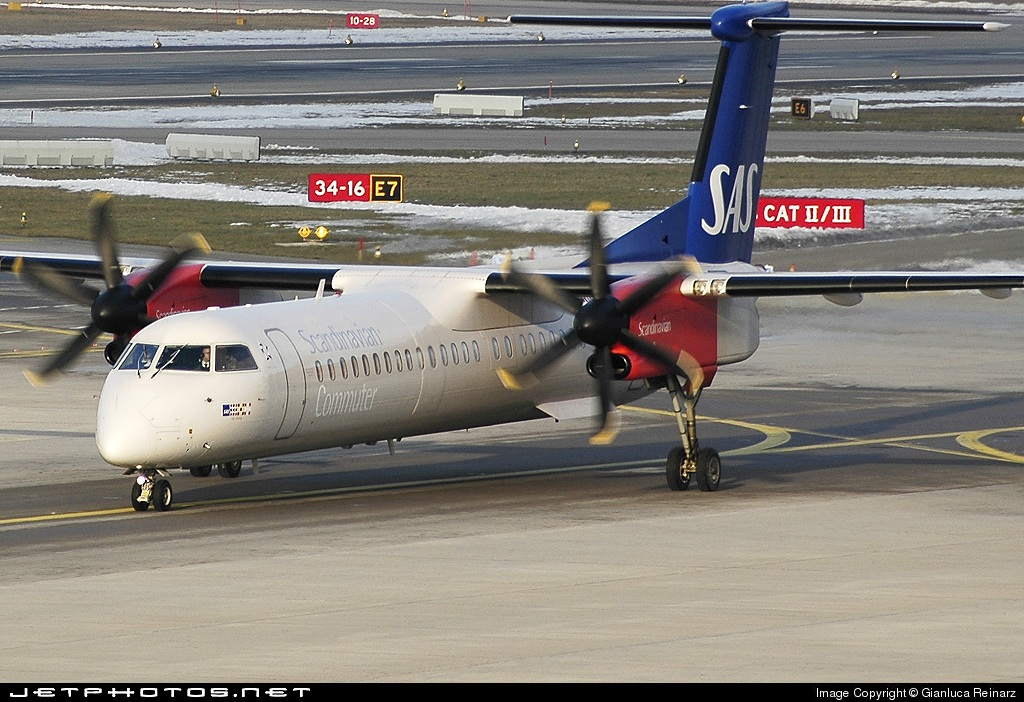 LN-RDT - Bombardier Dash 8-Q402 - Scandinavian Commuter (SAS)