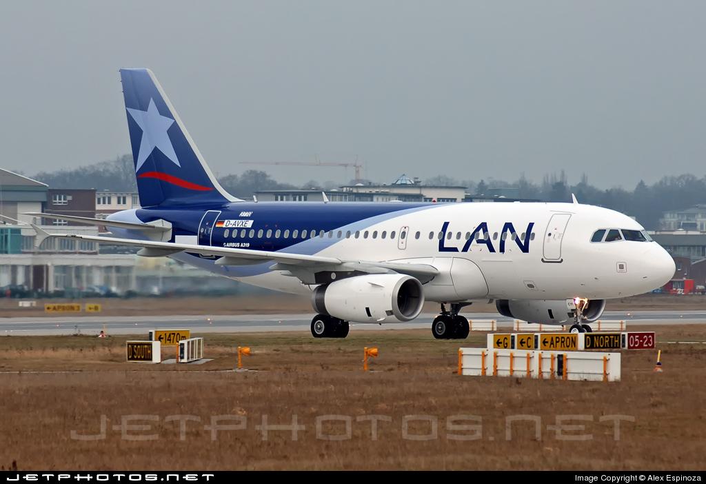 CC-CYI - Airbus A319-132 - LAN Airlines
