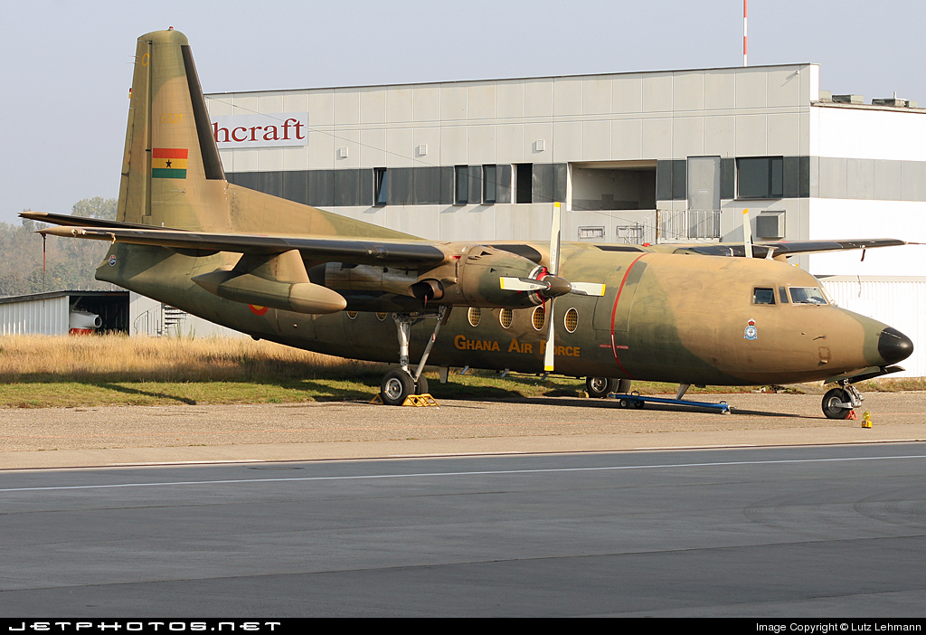 G521 - Fokker F27-400M Troopship - Ghana - Air Force