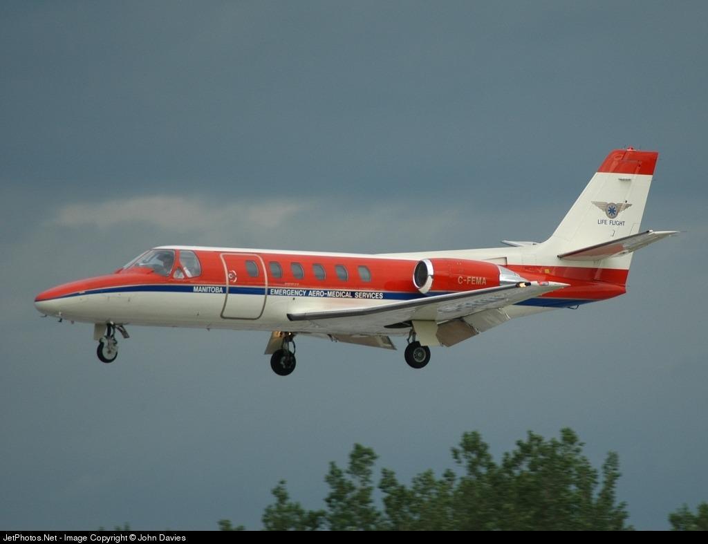 C-FEMA - Cessna 550 Citation II - Canada - Manitoba Government Air Services