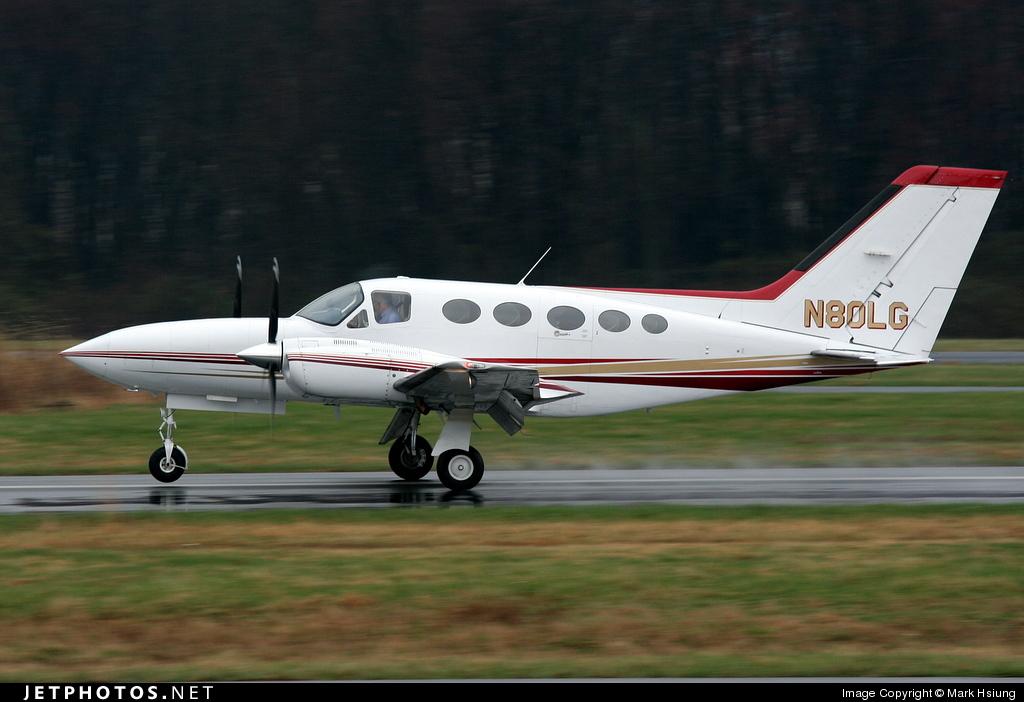 N80LG - Cessna 421C Golden Eagle - Private