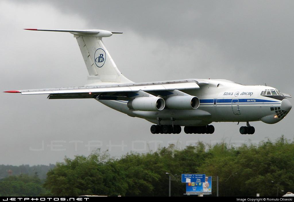 RA-76493 - Ilyushin IL-76TD - Volga Dnepr Airlines