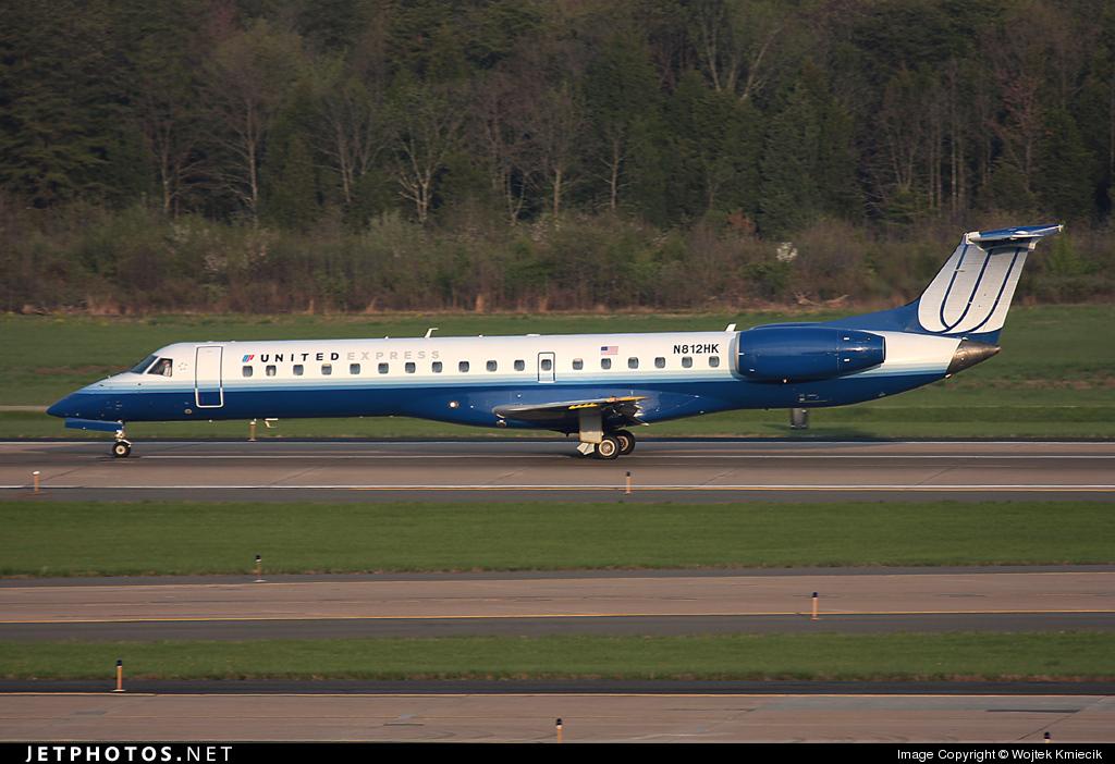 N812HK - Embraer ERJ-145LR - United Express (Trans States Airlines)