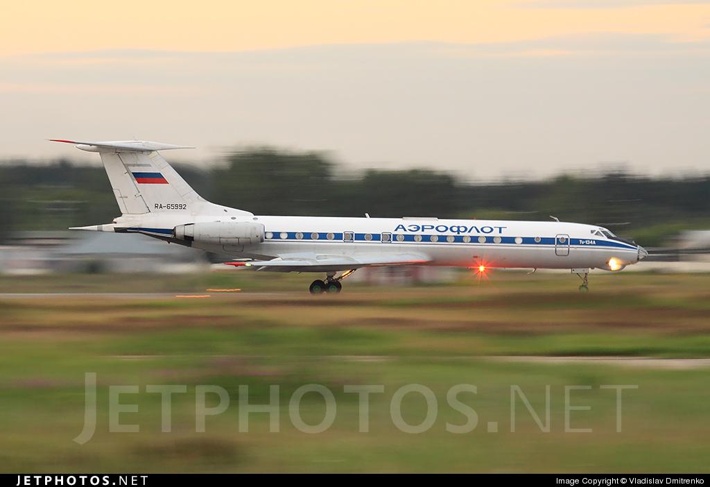 RA-65992 - Tupolev Tu-134A - Russia - Air Force