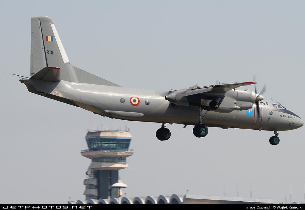 810 - Antonov An-26 - Romania - Air Force