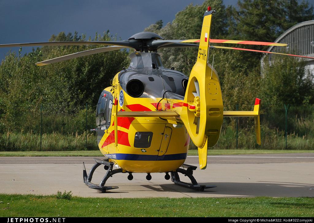 SP-HXH - Eurocopter EC 135P2i - Lotnicze Pogotowie Ratunkowe