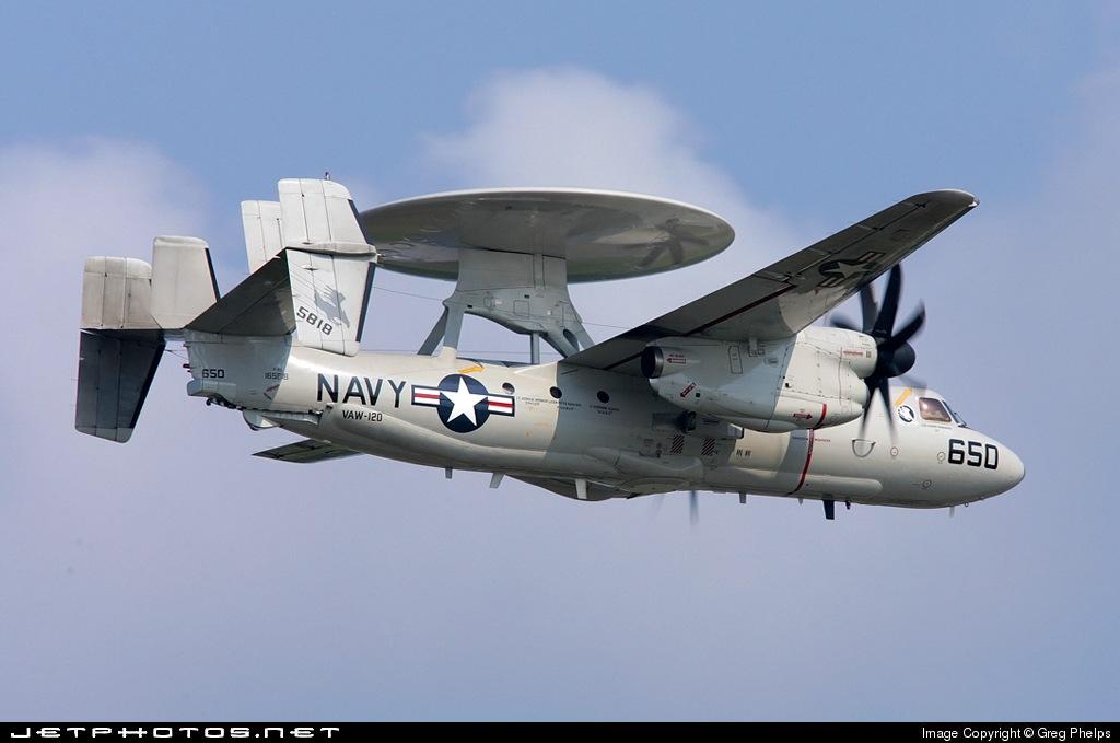 165818 - Grumman E-2C Hawkeye - United States - US Navy (USN)
