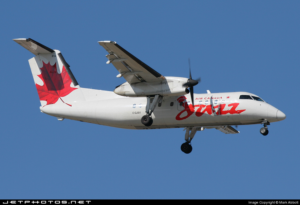 C-GJSV - Bombardier Dash 8-102 - Air Canada Jazz
