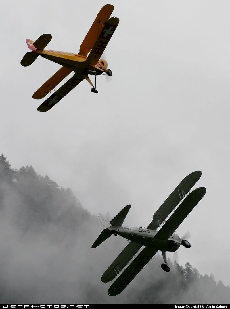 HB-RBG - Boeing E75 Stearman - Stearman Club