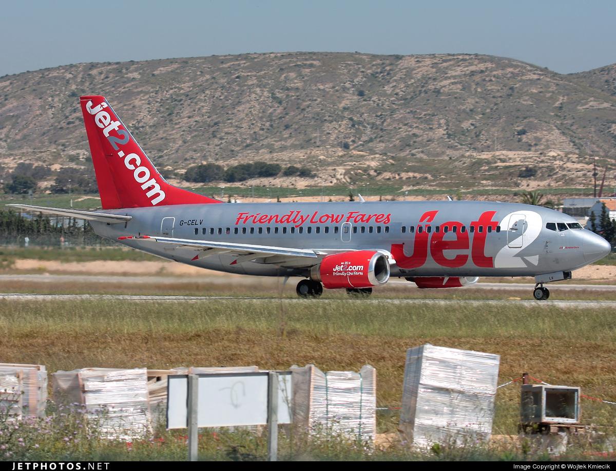 G-CELV - Boeing 737-377 - Jet2.com