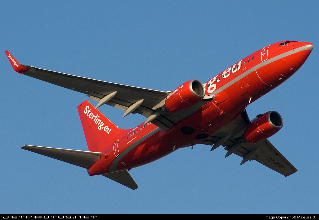 OY-MRH - Boeing 737-7L9 - Sterling Airlines