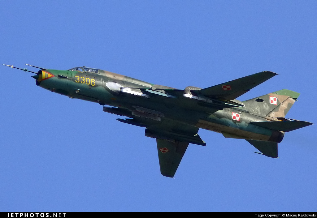 3306 - Sukhoi Su-22M4 Fitter K - Poland - Air Force
