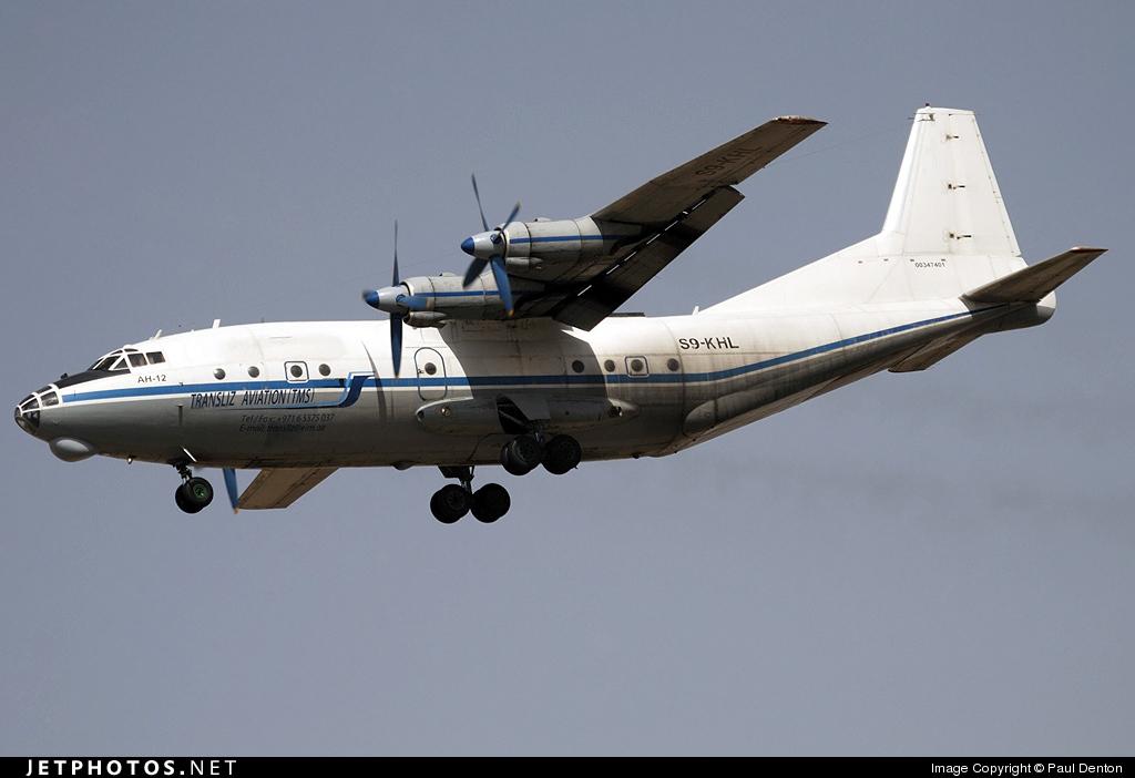 S9-KHL - Antonov An-12BK - Transliz Aviation