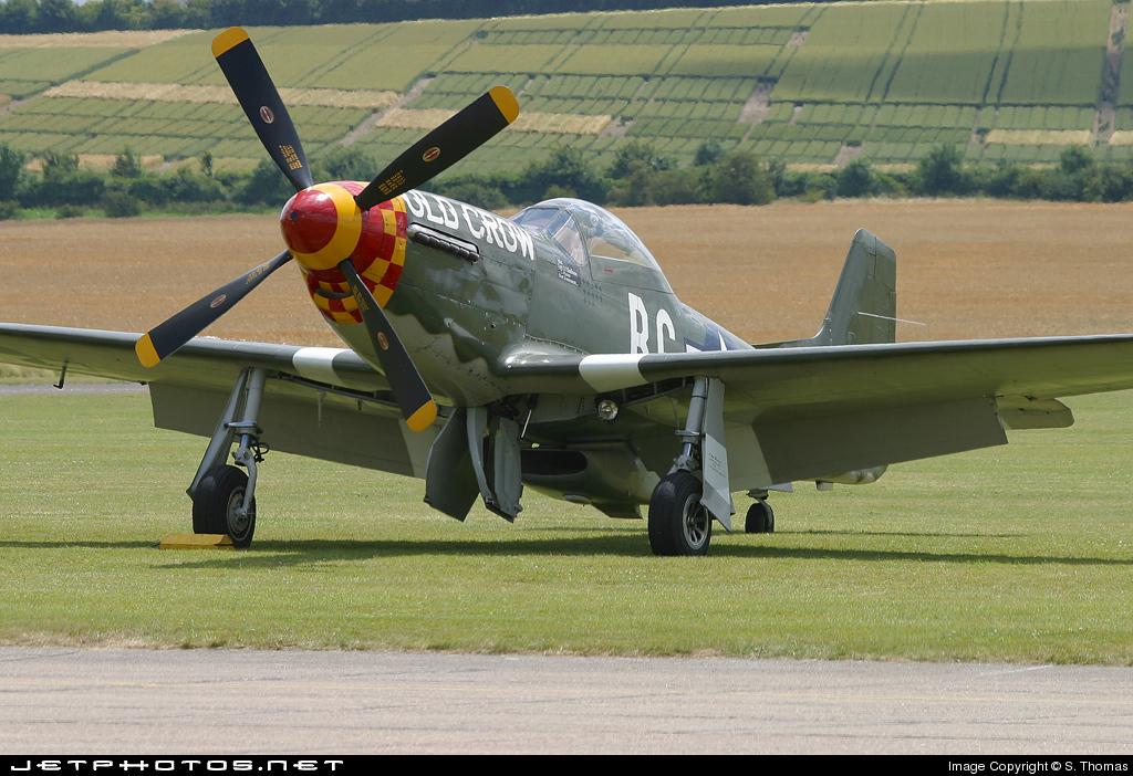 N167F - North American P-51D Mustang - Scandinavian Historic Flight