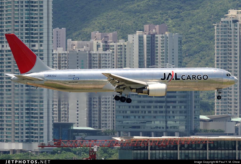 JA633J - Boeing 767-346F(ER) - JAL Cargo