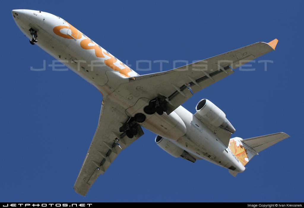 C-GKEM - Bombardier CRJ-200LR - Air Canada Jazz