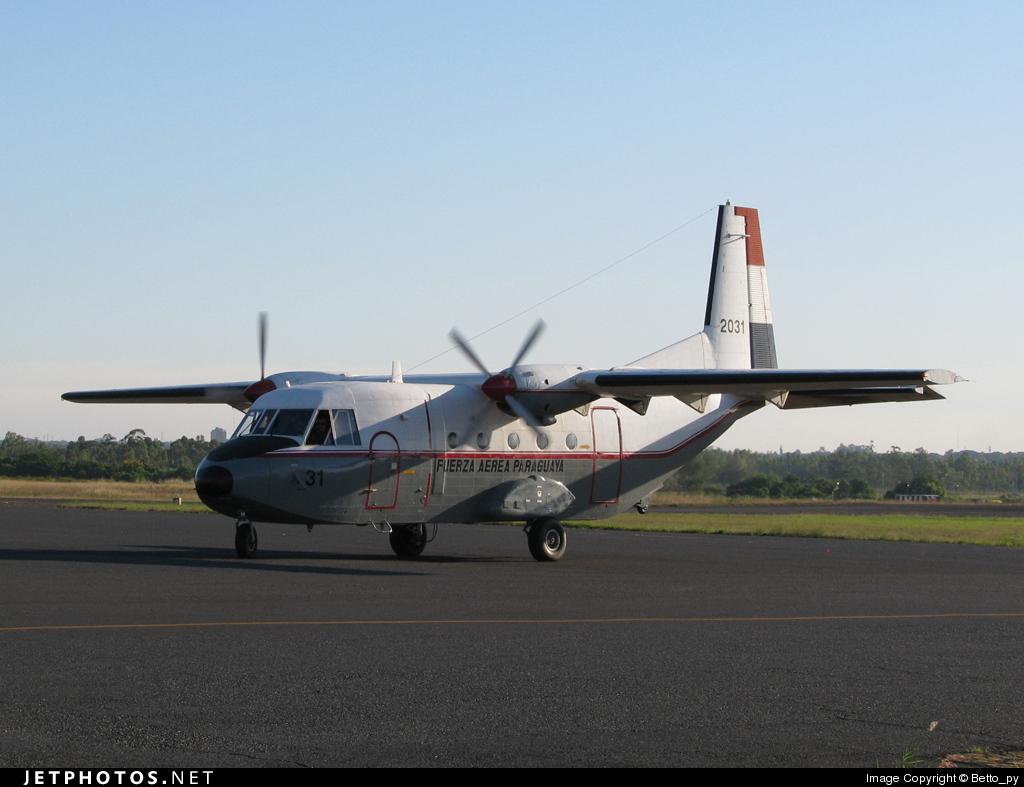 2031 - CASA C-212-200 Aviocar - Paraguay - Air Force