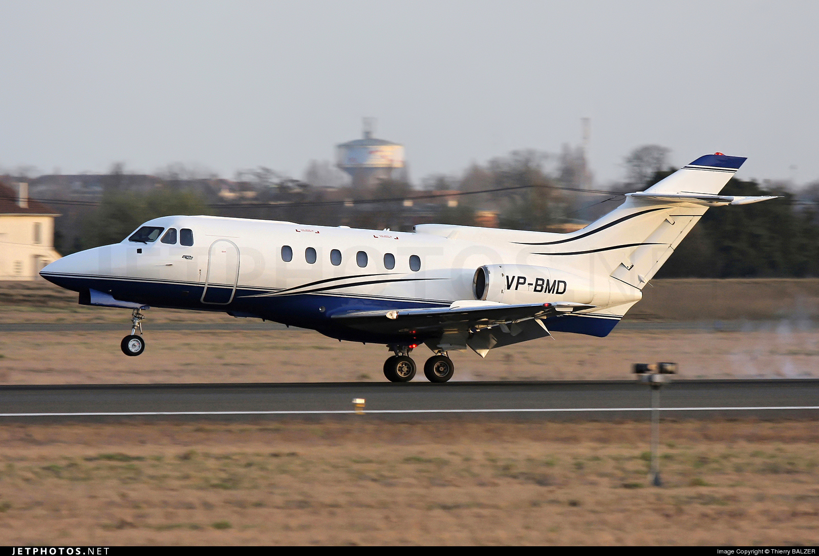 VP-BMD - Hawker Siddeley HS-125-700B - Private