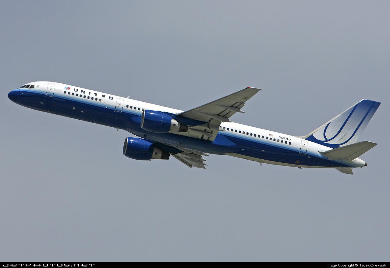 N557UA - Boeing 757-222 - United Airlines