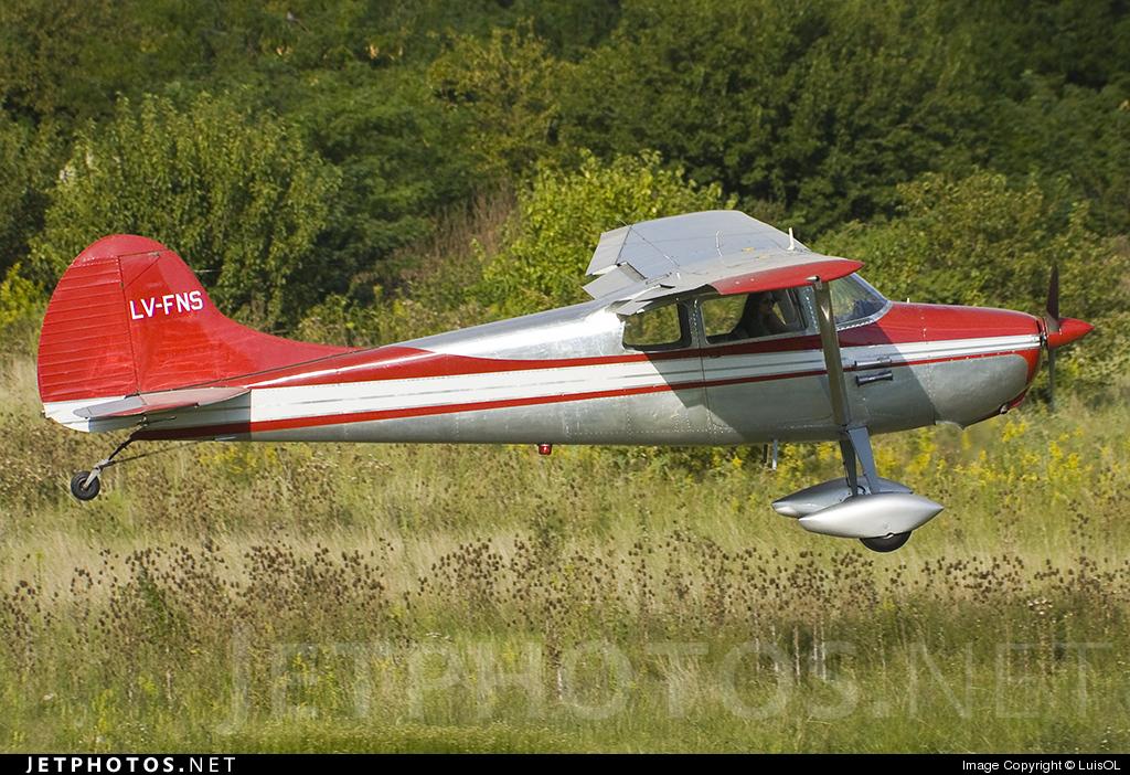 LV-FNS - Cessna 170B - Private