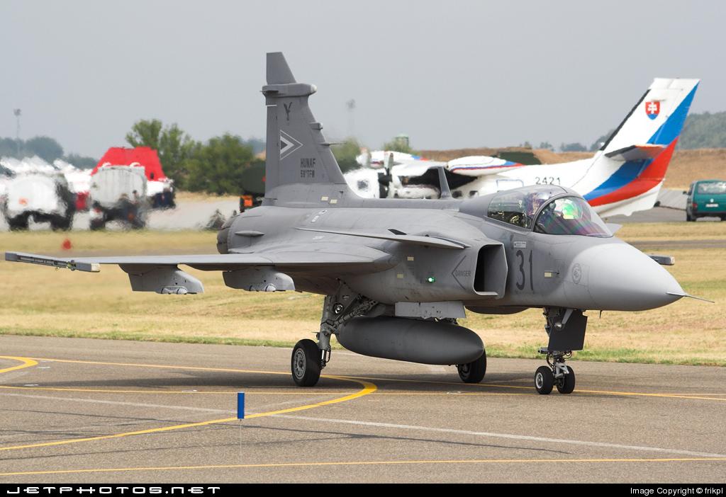 31 - Saab JAS-39C Gripen - Hungary - Air Force