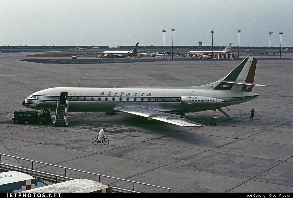I-DABM - Sud Aviation SE 210 Caravelle VIN - Alitalia