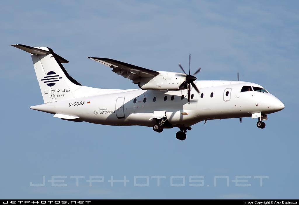 D-COSA - Dornier Do-328-110 - Cirrus Airlines