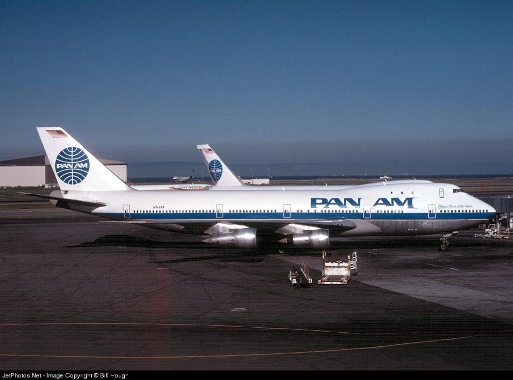 N748PA - Boeing 747-121 - Pan Am