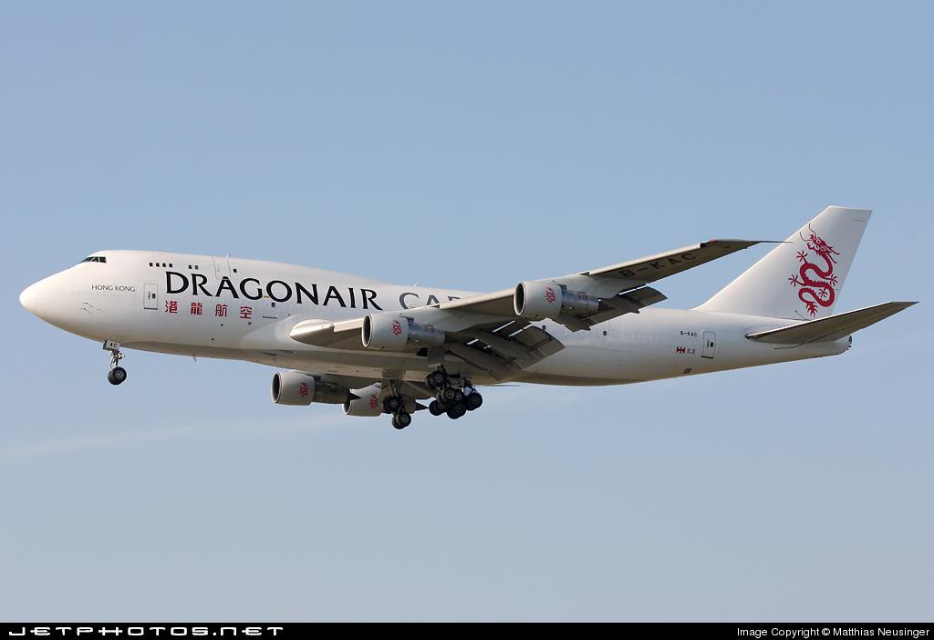 B-KAC - Boeing 747-3H6(SF) - Dragonair Cargo