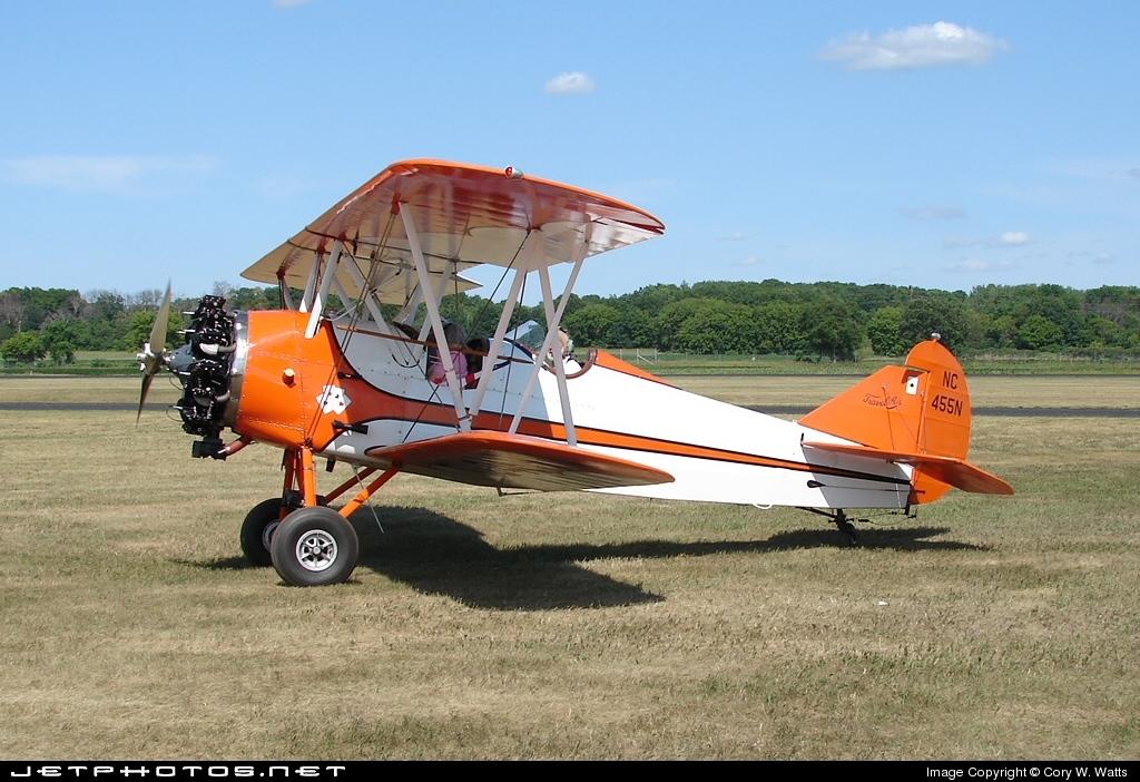 NC455N - Curtiss-Wright Travel Air 4000 - Private