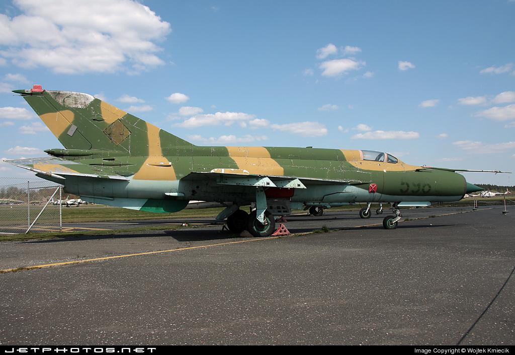 596 - Mikoyan-Gurevich Mig-21M Fishbed - German Democratic Republic - Air Force