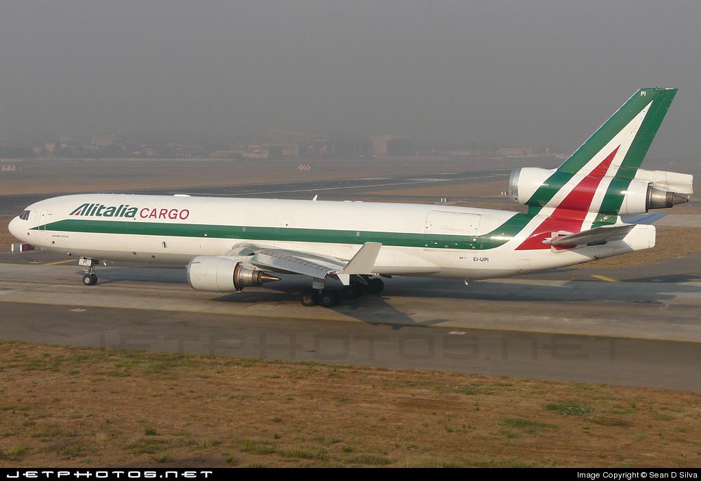 EI-UPI - McDonnell Douglas MD-11(F) - Alitalia Cargo