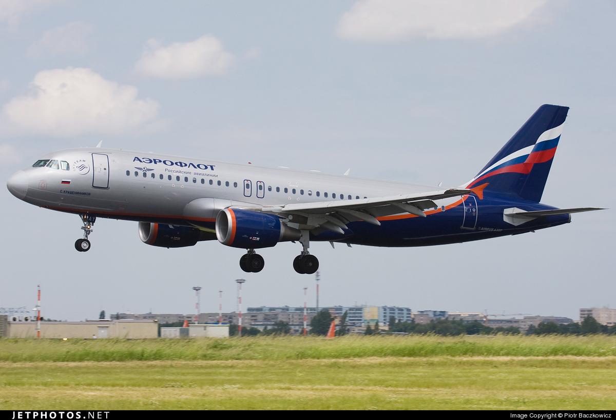 VQ-BAY - Airbus A320-214 - Aeroflot