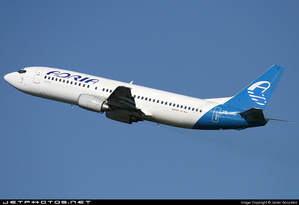 UR-GAV - Boeing 737-4C9 - Adria Airways