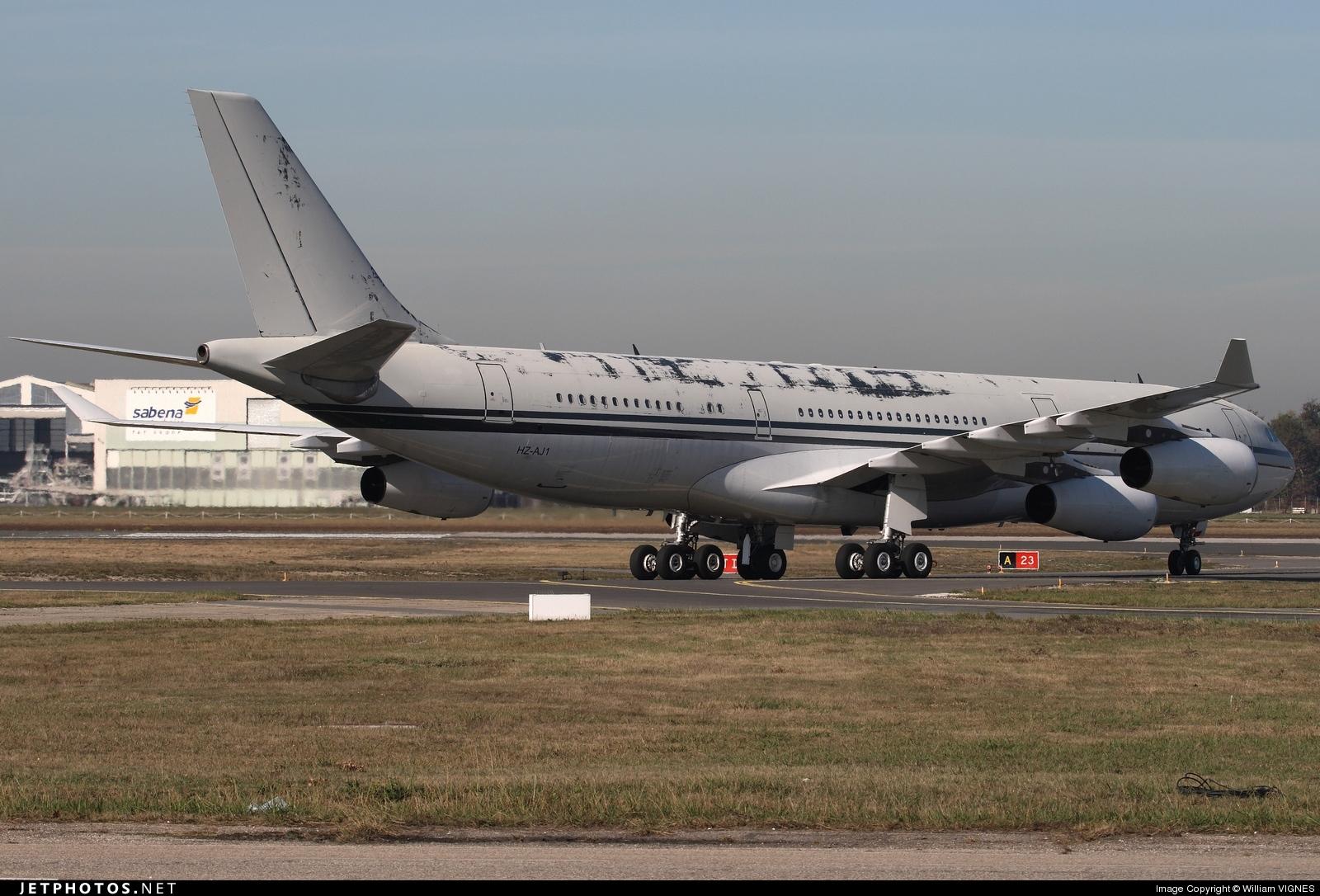 HZ-AJ1 - Airbus A340-211 - Ajwa Aviation