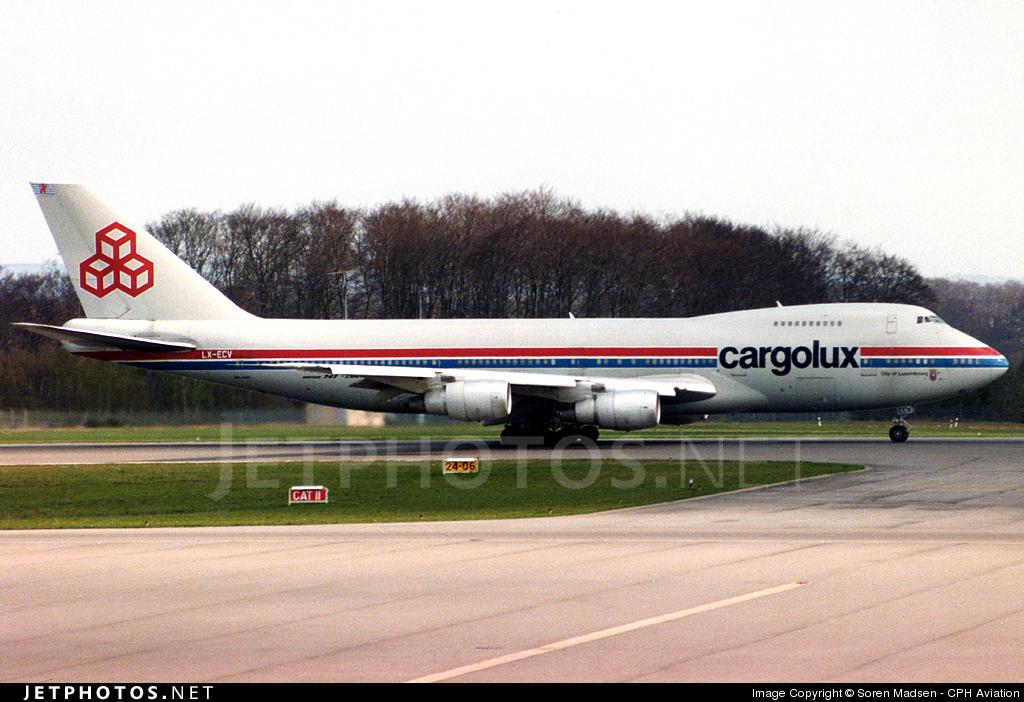 LX-ECV - Boeing 747-271C(SCD) - Cargolux Airlines International