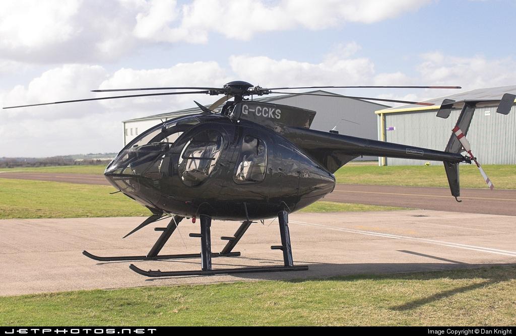 G-CCKS - Hughes 369E - Biggin Hill Helicopters
