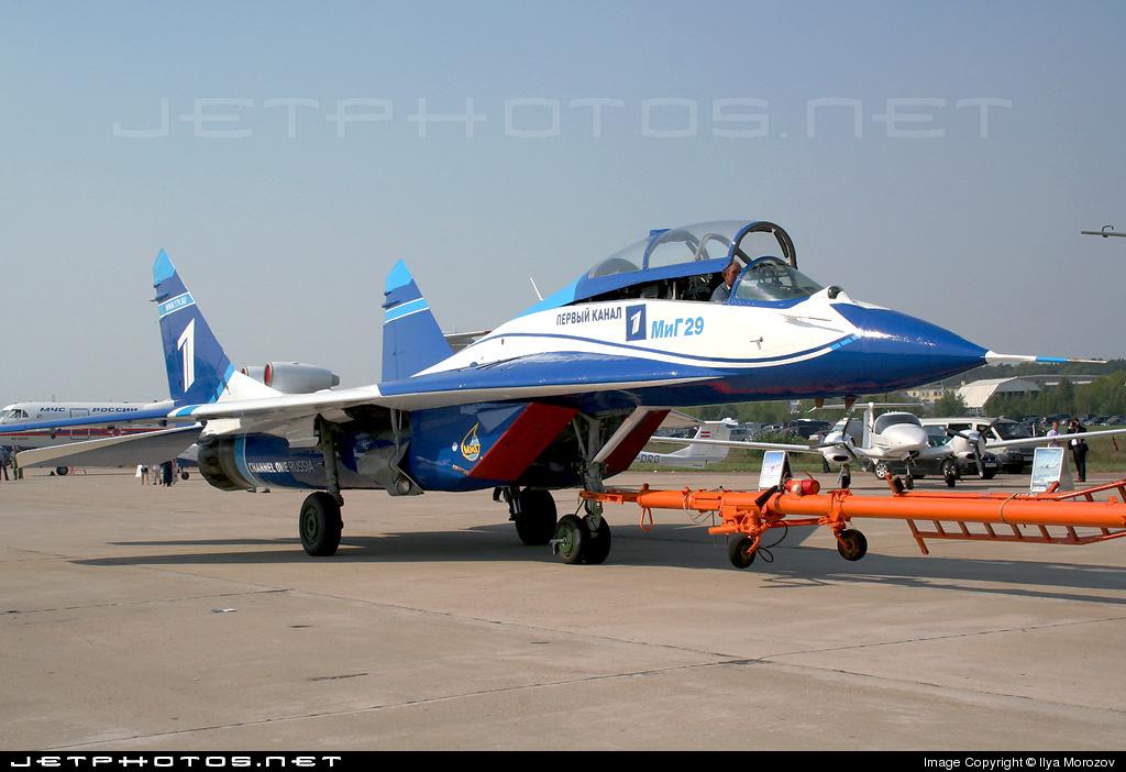 1 - Mikoyan-Gurevich MiG-29UB Fulcrum - Russia - Air Force