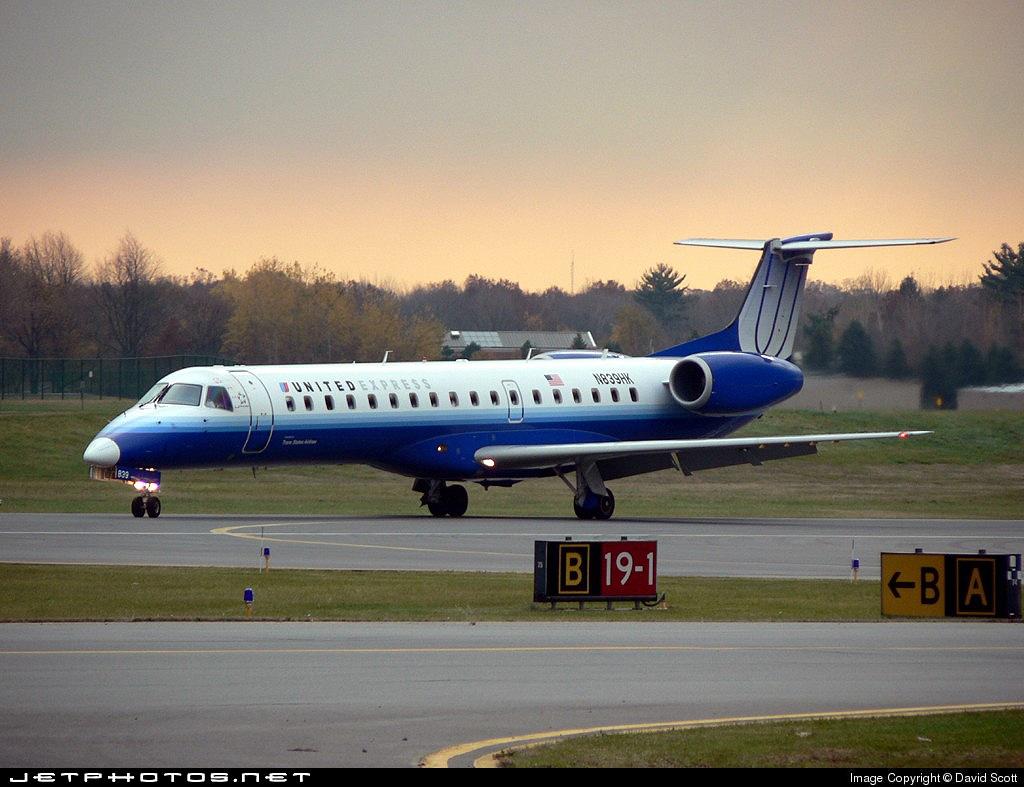 N839HK - Embraer ERJ-145LR - United Express (Trans States Airlines)
