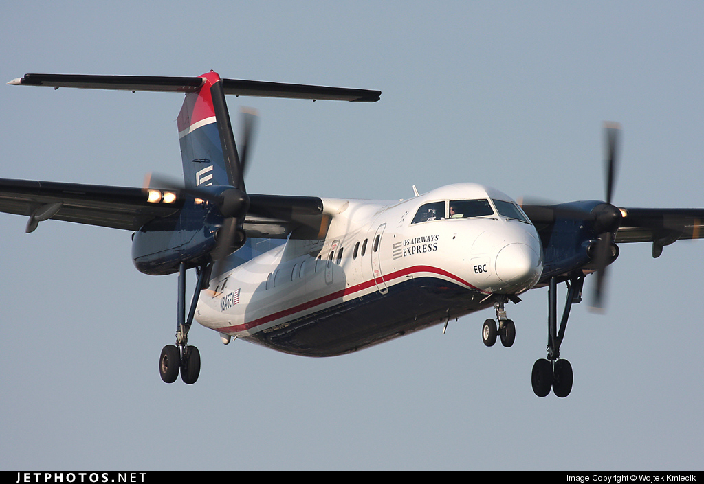 N846EX - Bombardier Dash 8-102A - US Airways Express (Piedmont Airlines)