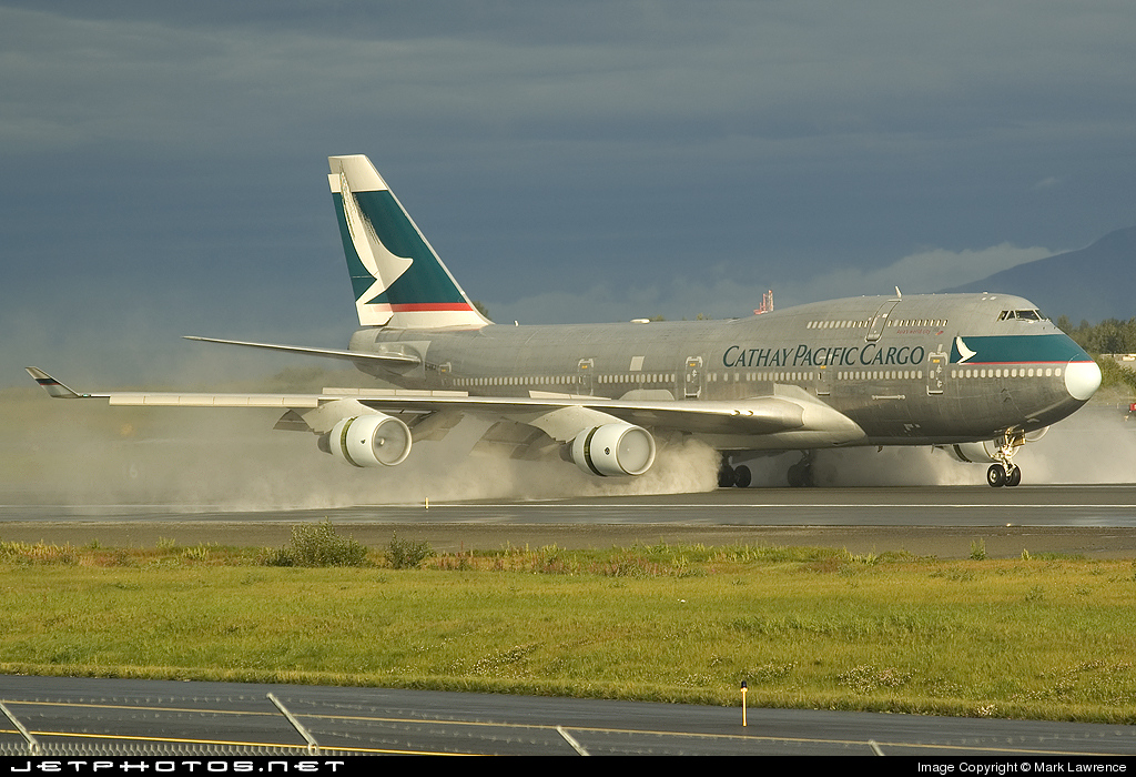 B-HKJ - Boeing 747-412(BCF) - Cathay Pacific Cargo