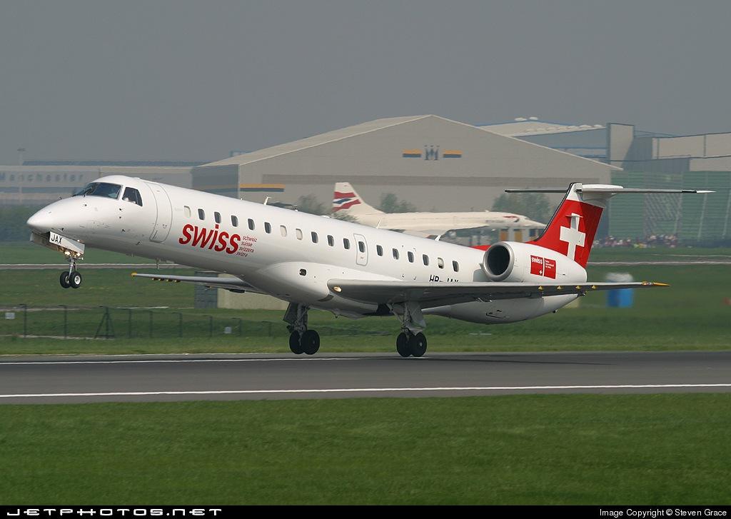 HB-JAX - Embraer ERJ-145LR - Swiss