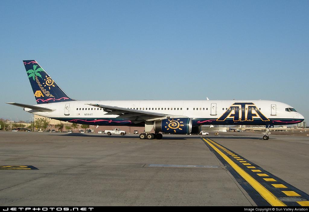 N519AT - Boeing 757-23N - American Trans Air (ATA)
