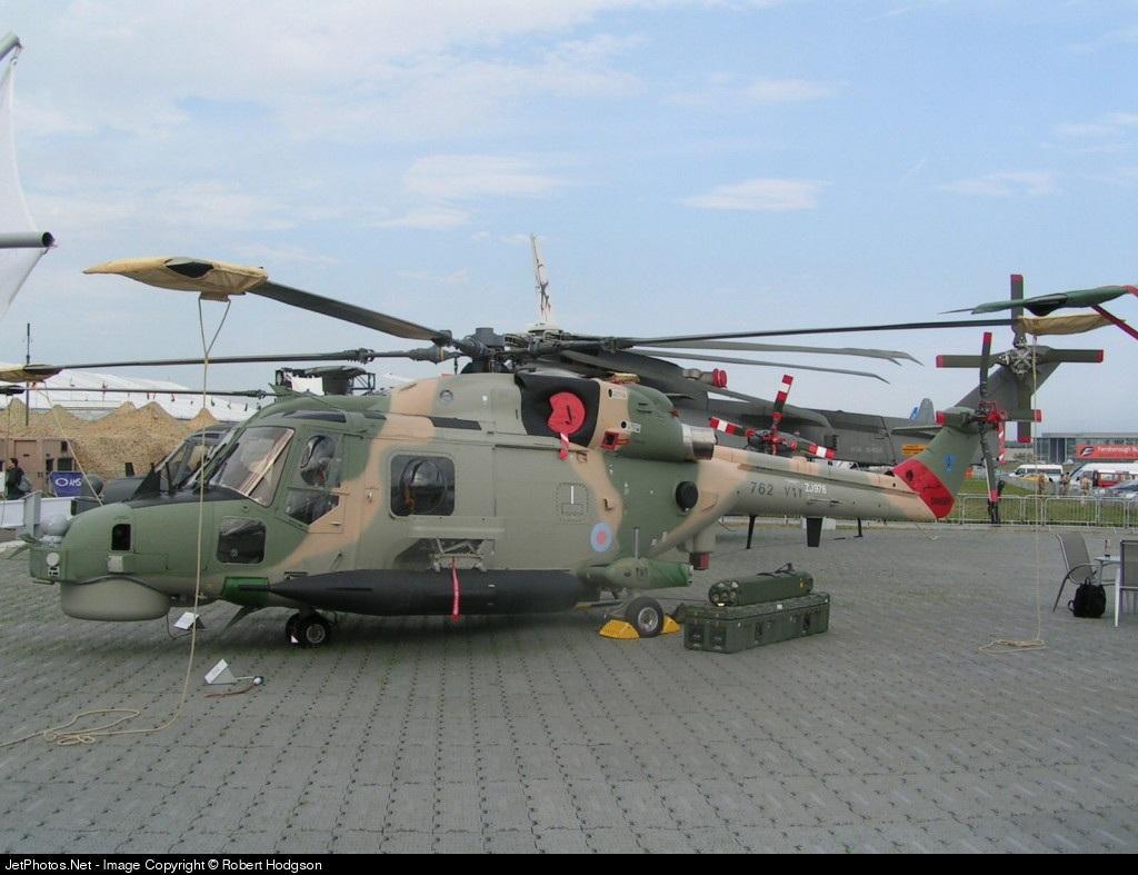 762 - Westland Super Lynx Multi - Oman - Royal Air Force