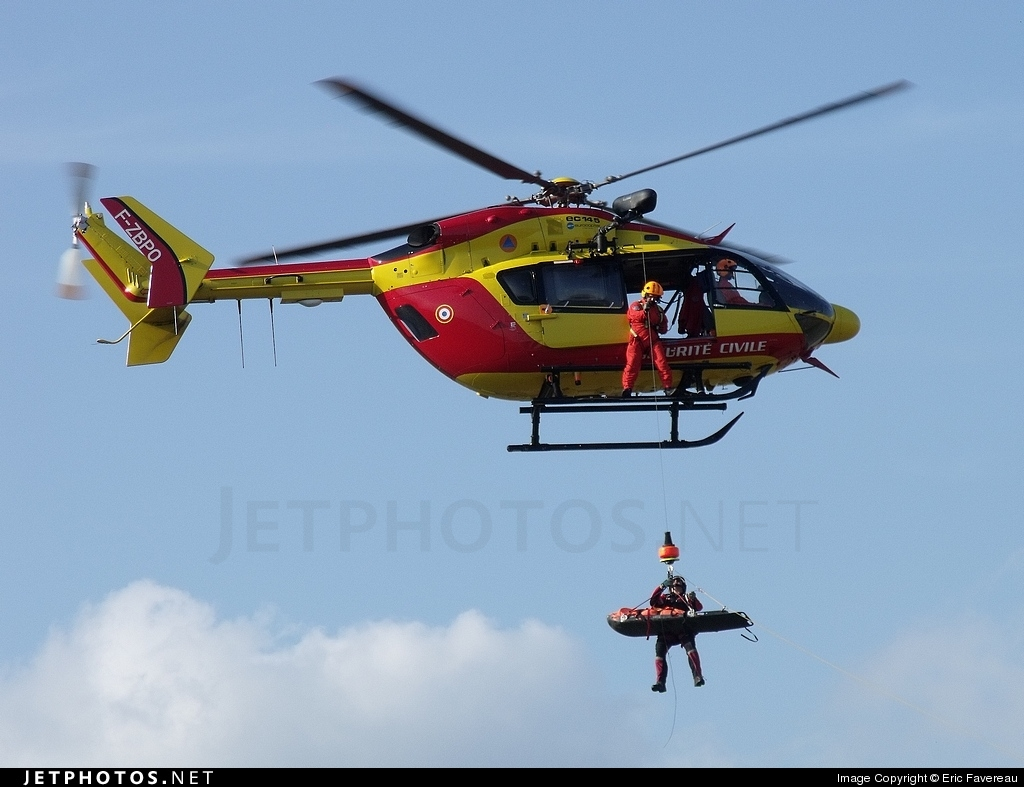 F-ZBPO - Eurocopter EC 145 - France - Sécurité Civile