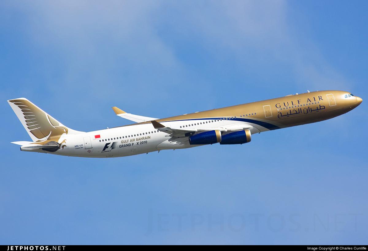 A9C-LH - Airbus A340-313X - Gulf Air