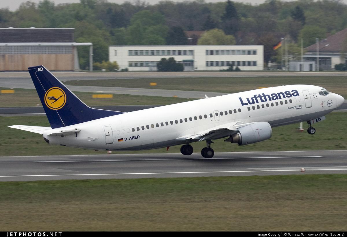 D-ABED - Boeing 737-330 - Lufthansa